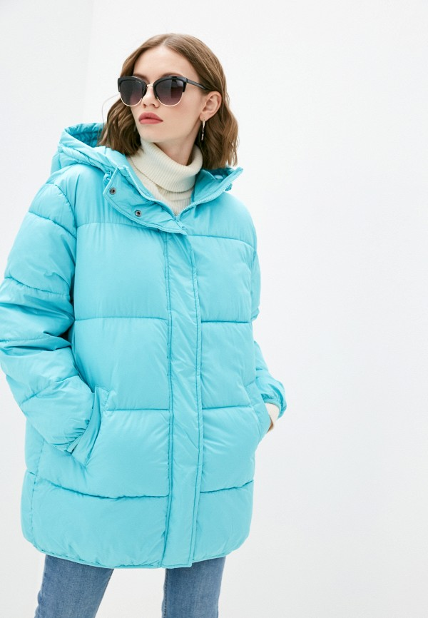 женская куртка pimkie, бирюзовая