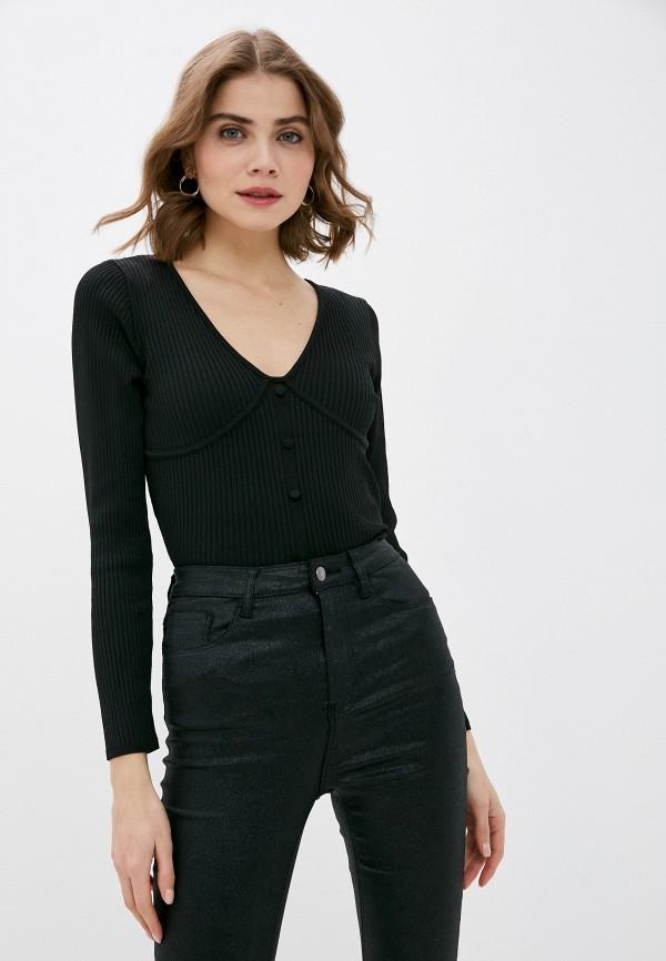 женский пуловер pimkie, черный