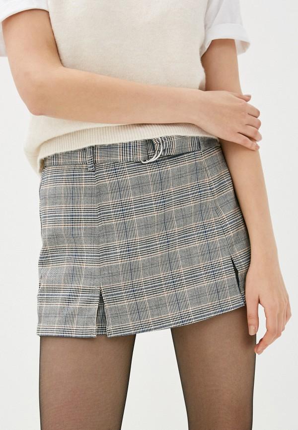 женская юбка pimkie, серая