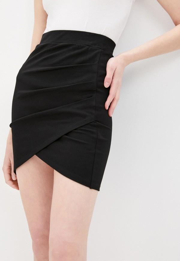 женская узкие юбка pimkie, черная
