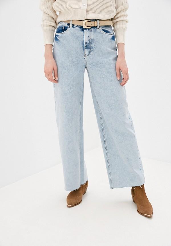 женские джинсы клеш pimkie, голубые