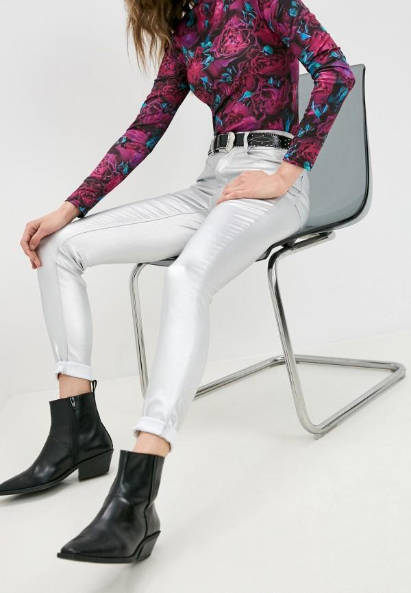 женские повседневные брюки pimkie, серебряные