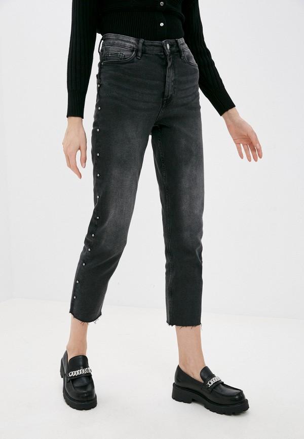 женские прямые джинсы pimkie, серые