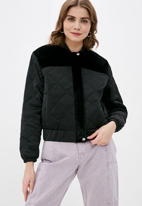 женская куртка pimkie, черная