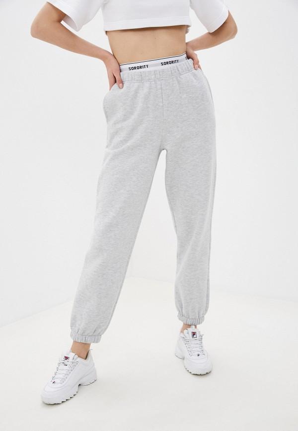 женские спортивные брюки pimkie, серые