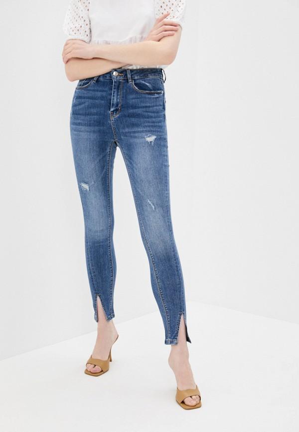 женские джинсы скинни pimkie, голубые
