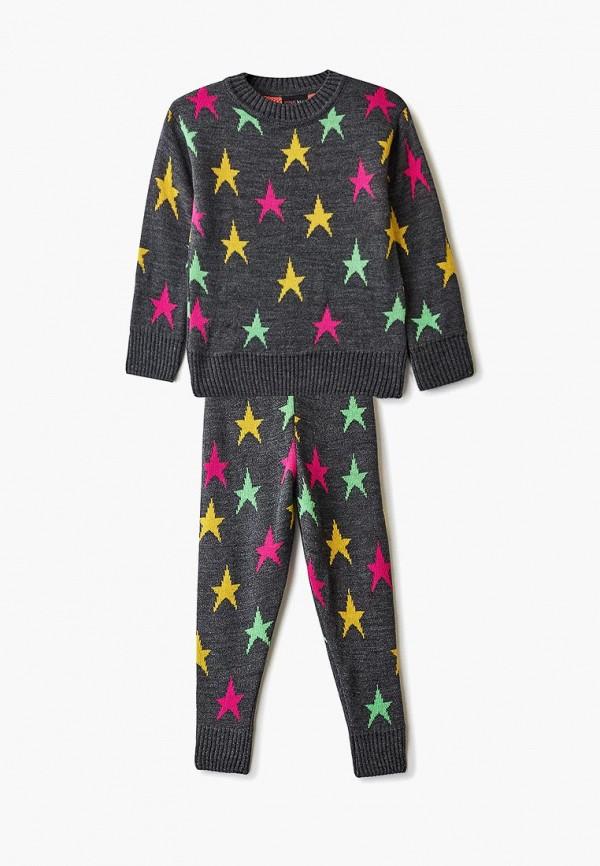костюм pink kids для девочки, серый