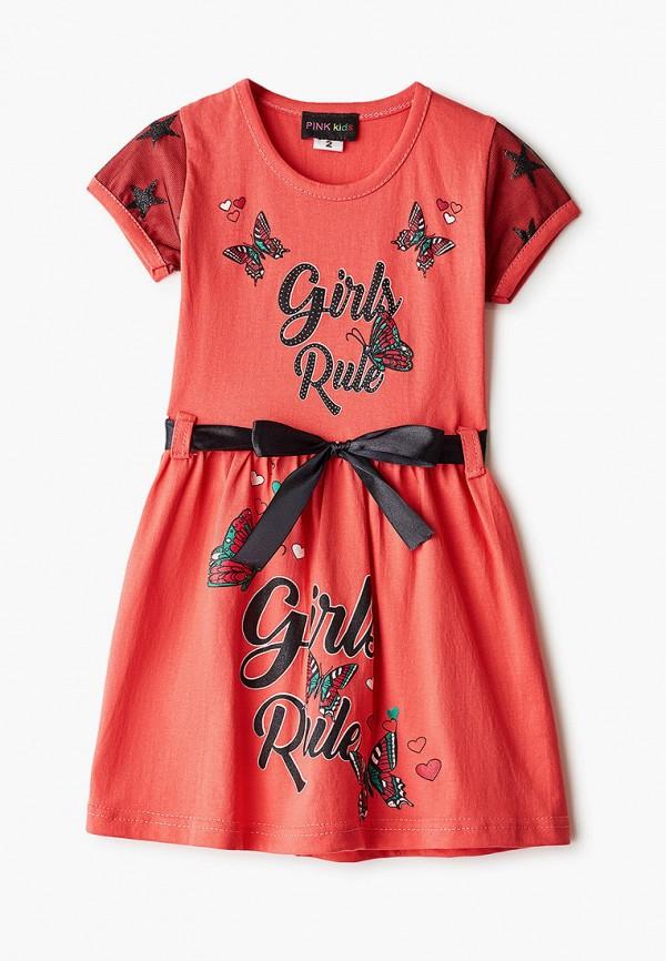 повседневные платье pink kids для девочки