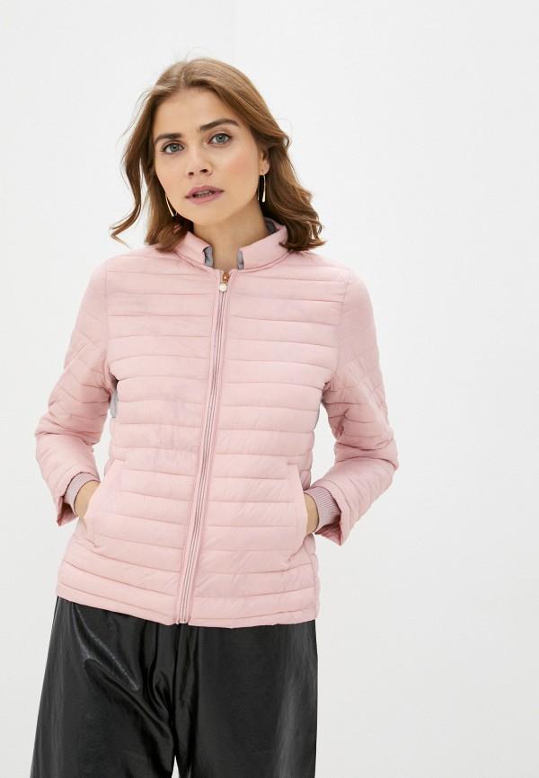 женская куртка pink orange, розовая