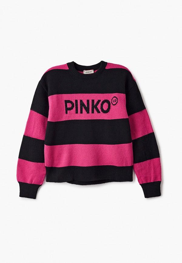 джемпер pinko up для девочки, разноцветный