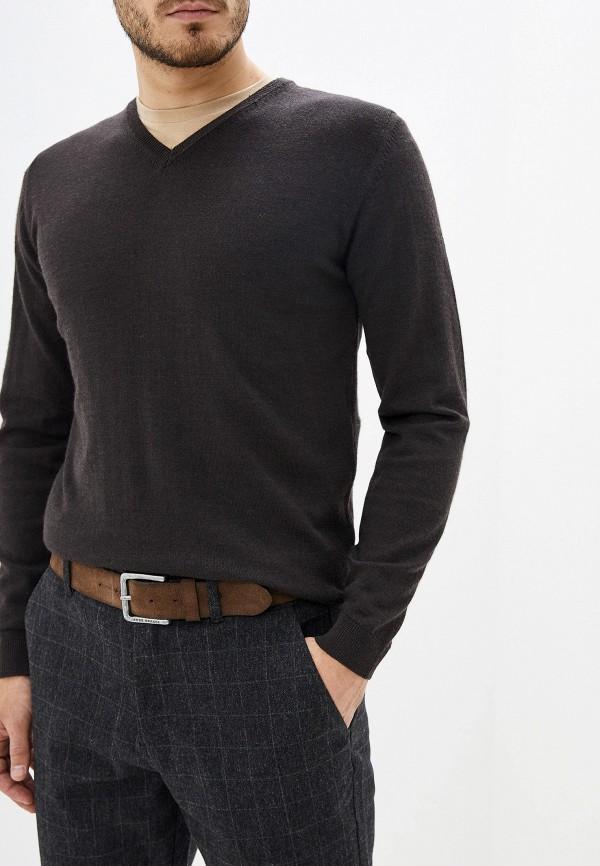 мужской пуловер pierre cardin, коричневый
