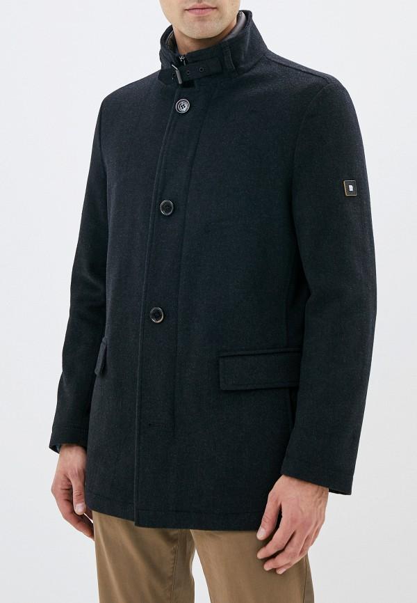 мужское пальто pierre cardin, черное