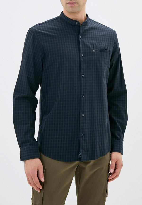мужская рубашка с длинным рукавом pierre cardin, зеленая