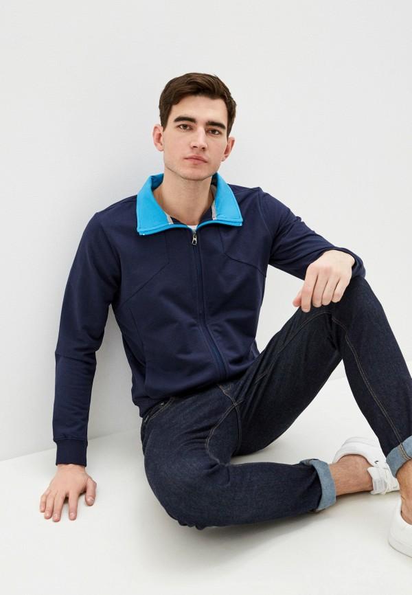 мужская олимпийка pierre cardin, синяя