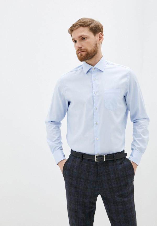 мужская рубашка pierre cardin, голубая