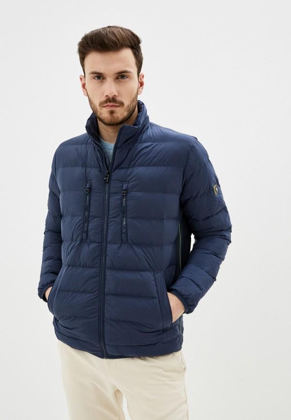 мужская куртка pierre cardin, синяя