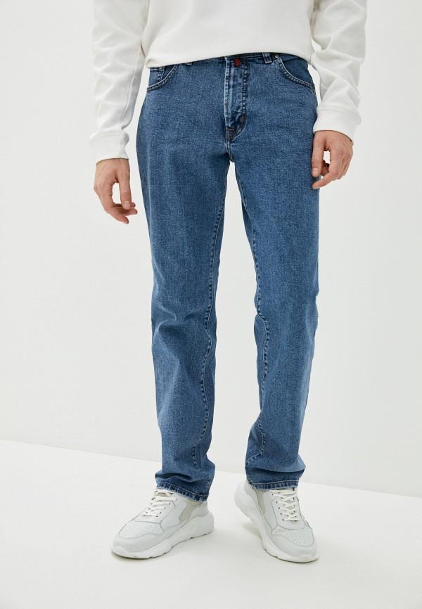 мужские прямые джинсы pierre cardin, голубые