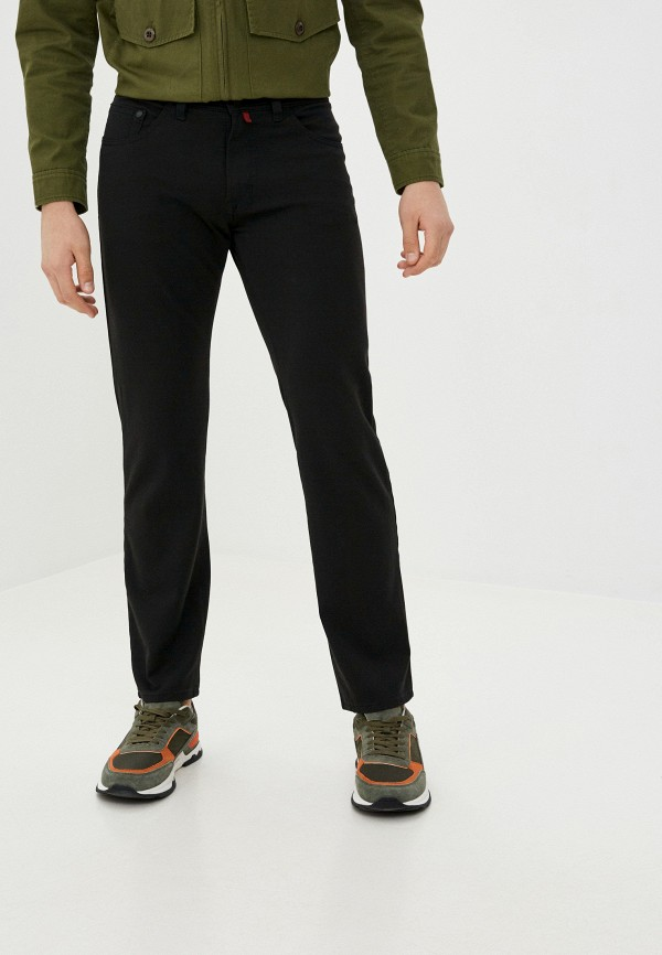 мужские прямые джинсы pierre cardin, черные