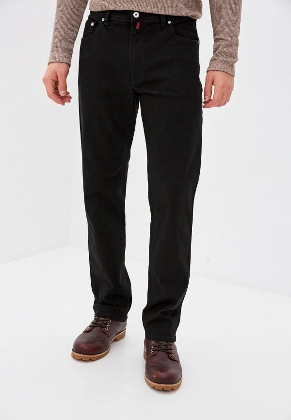 мужские зауженные джинсы pierre cardin, черные