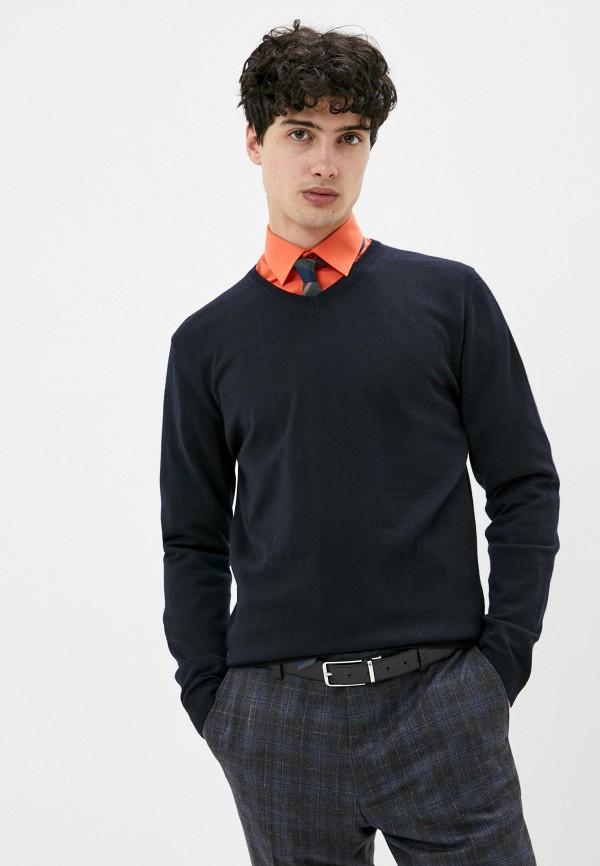 мужской пуловер pierre cardin, синий