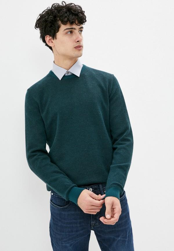 мужской джемпер pierre cardin, зеленый