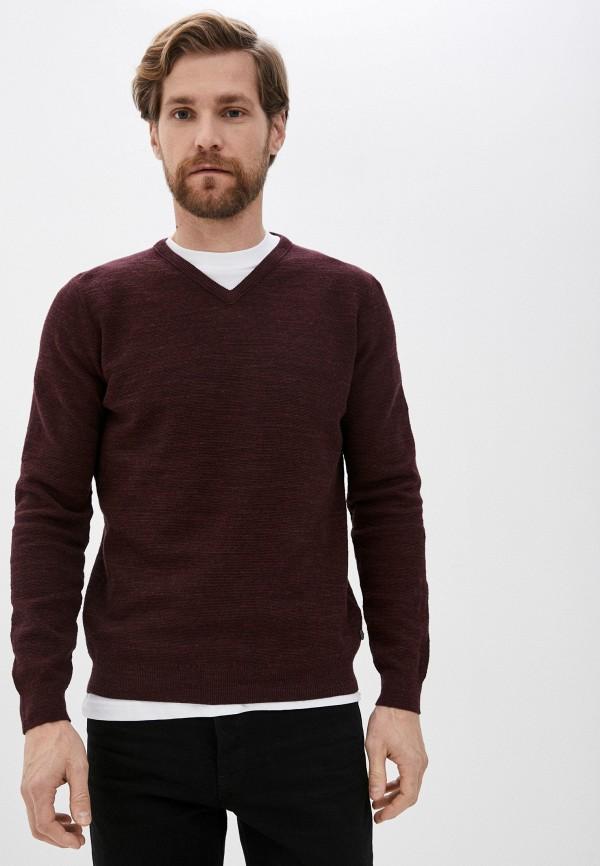 мужской пуловер pierre cardin, бордовый