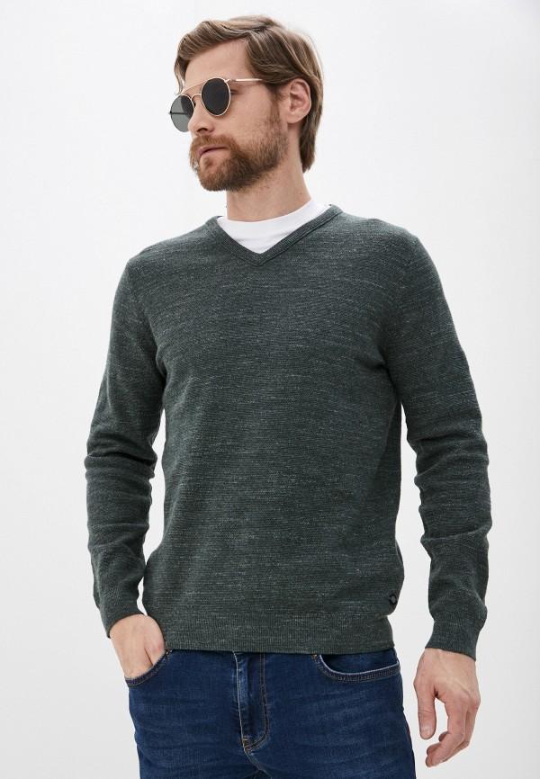 мужской пуловер pierre cardin, зеленый