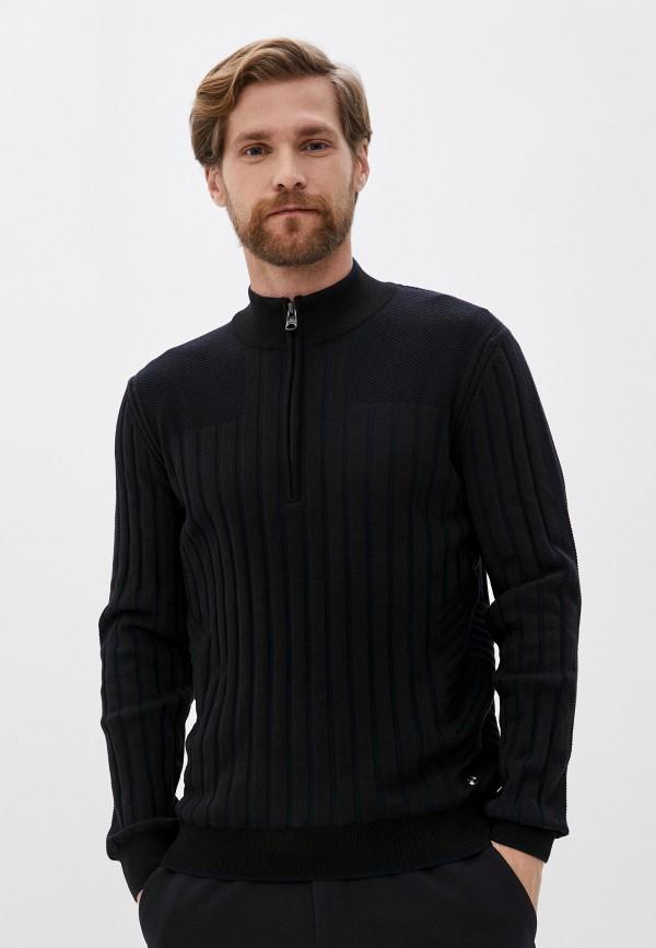 мужской джемпер pierre cardin, черный