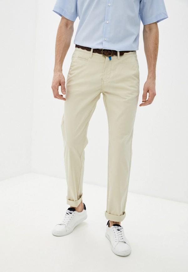 мужские брюки чинос pierre cardin, бежевые