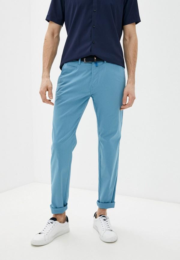 мужские брюки чинос pierre cardin, голубые