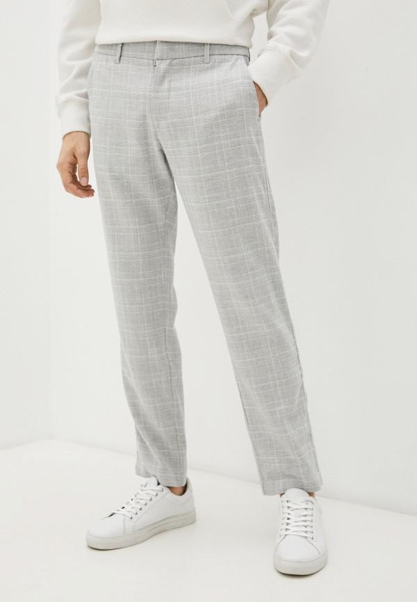 мужские повседневные брюки pierre cardin, серые