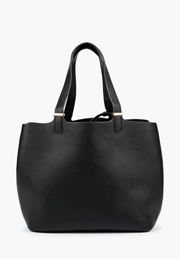 женская сумка pieces, черная