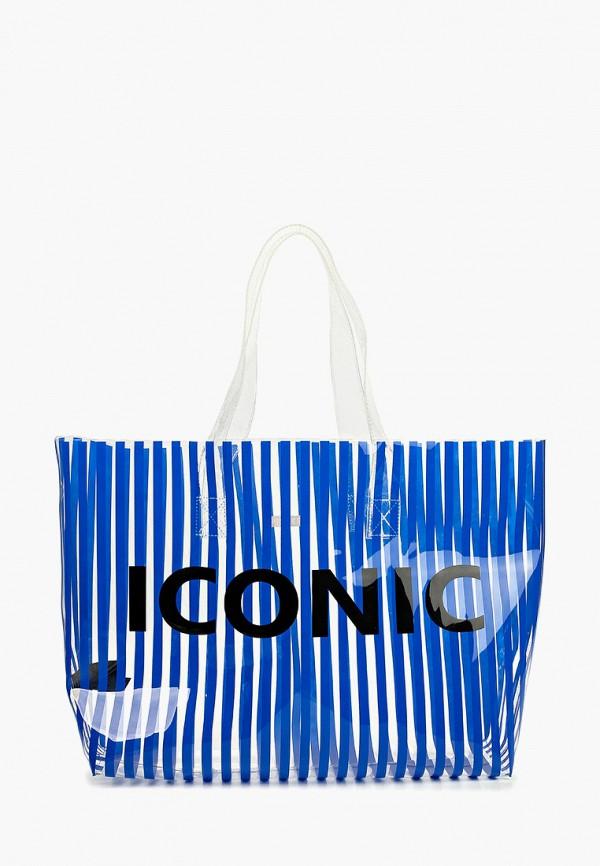 женская сумка pieces, синяя