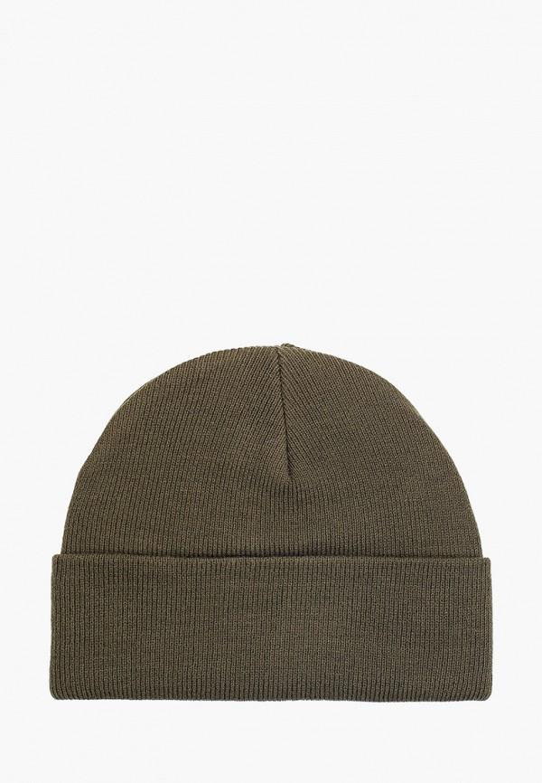 женская шапка pieces, зеленая