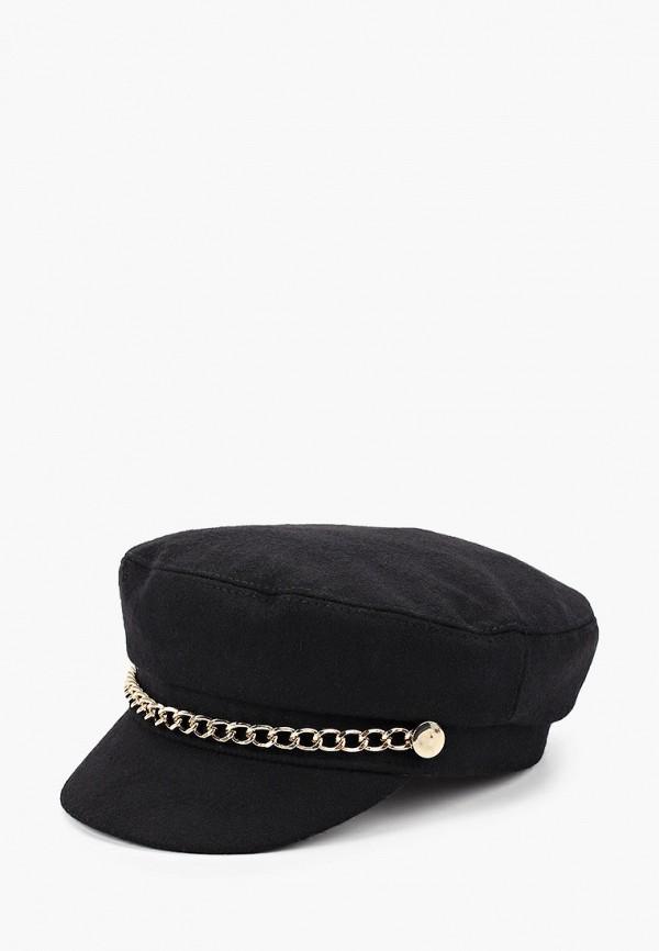 женская кепка pieces, черная