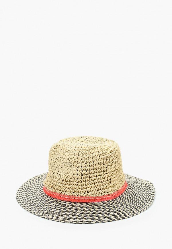 женская шляпа pieces, бежевая
