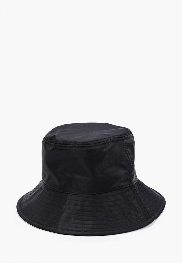 женская панама pieces, черная