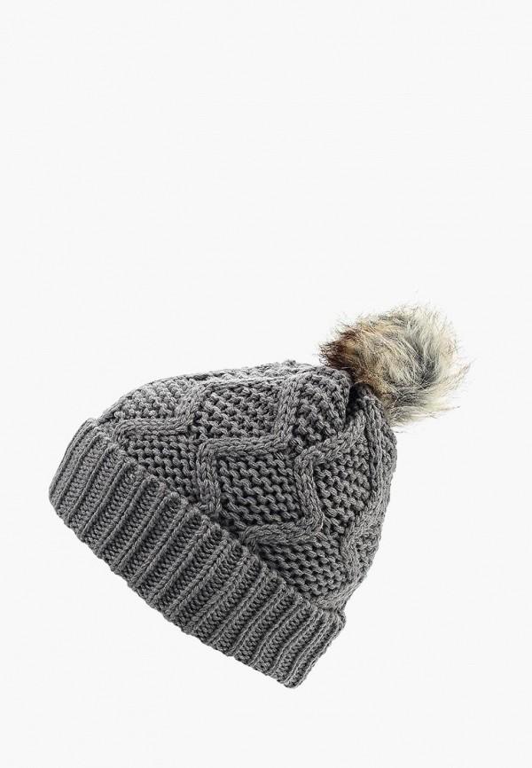 Фото - женскую шапку Pieces серого цвета
