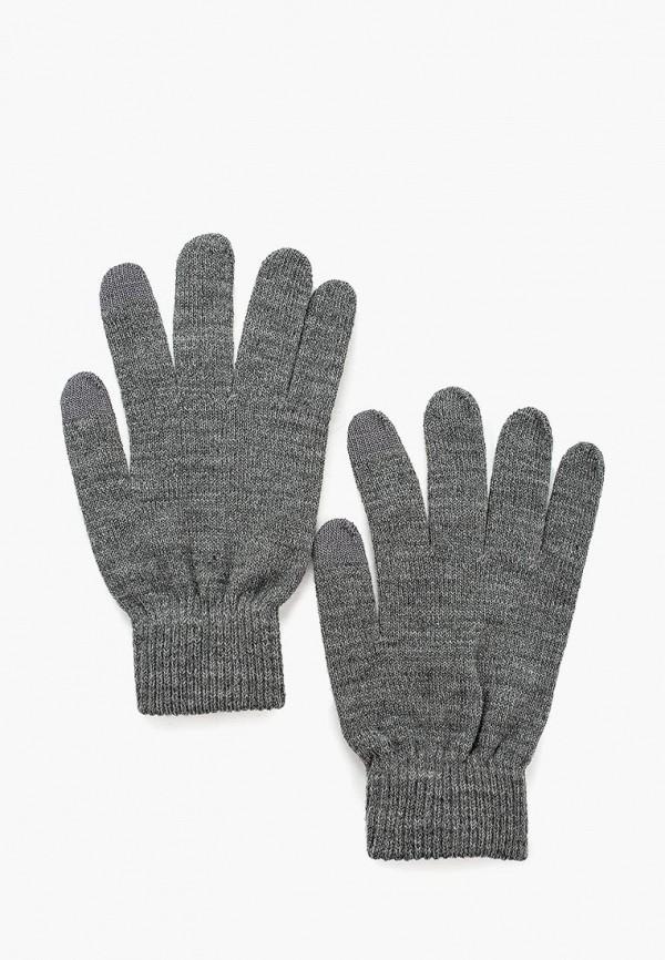 женские перчатки pieces, серые