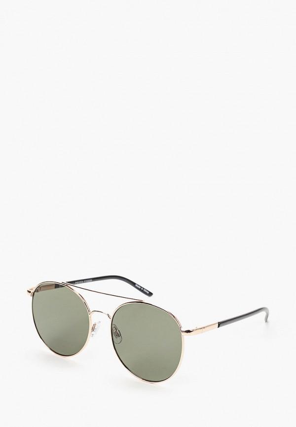 женские солнцезащитные очки pieces, золотые
