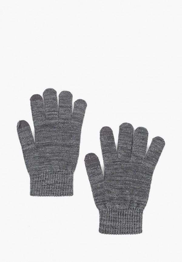 женские текстильные перчатки pieces, серые