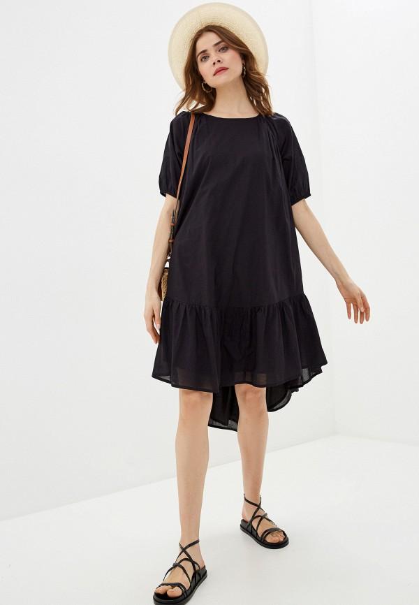 женское повседневные платье pieces, черное