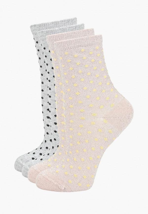 женские носки pieces, разноцветные