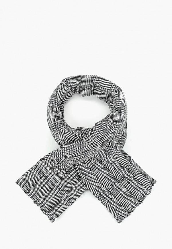 женский шарф pieces, серый