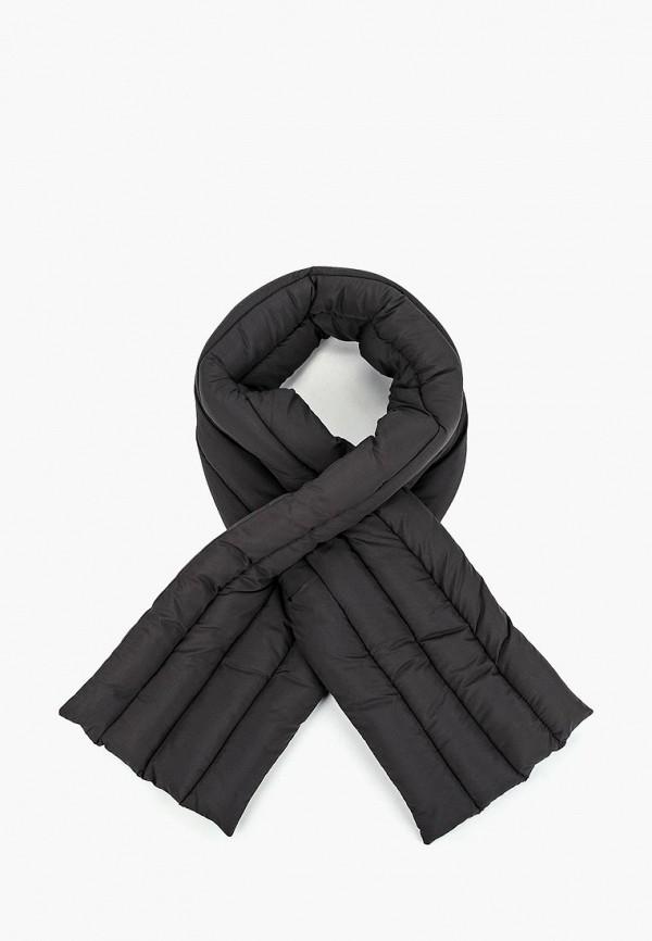 женский шарф pieces, черный