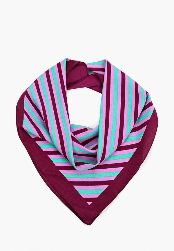 женский платок pieces, фиолетовый