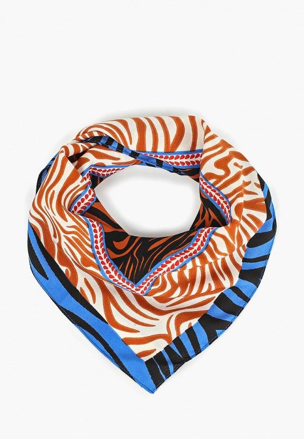 женский платок pieces, разноцветный