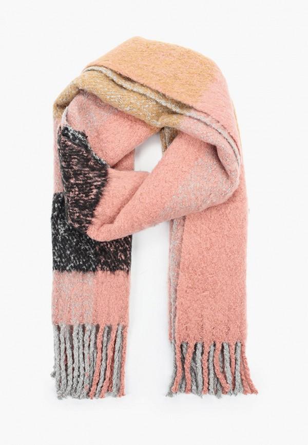 женский шарф pieces, разноцветный