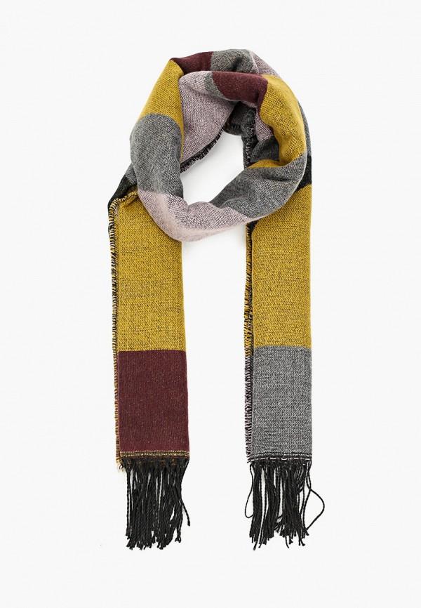Фото - женский шарф Pieces разноцветного цвета
