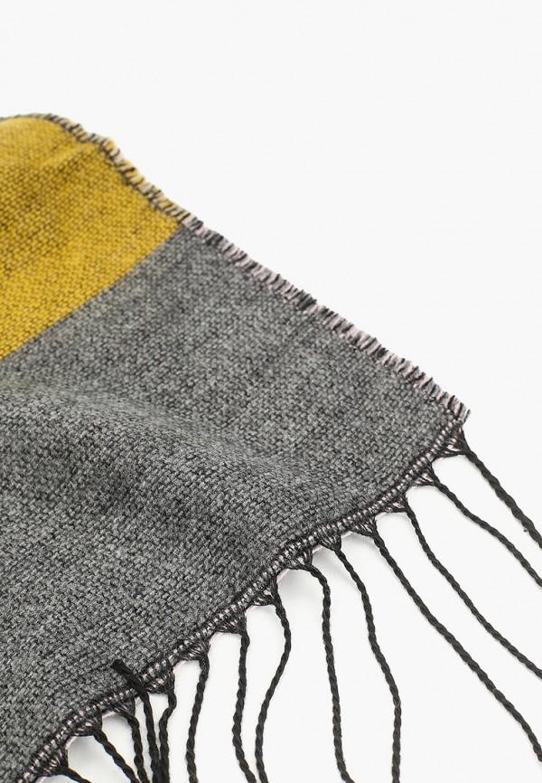Фото 2 - женский шарф Pieces разноцветного цвета